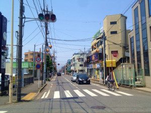 角栄商店街