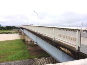 川越橋全景