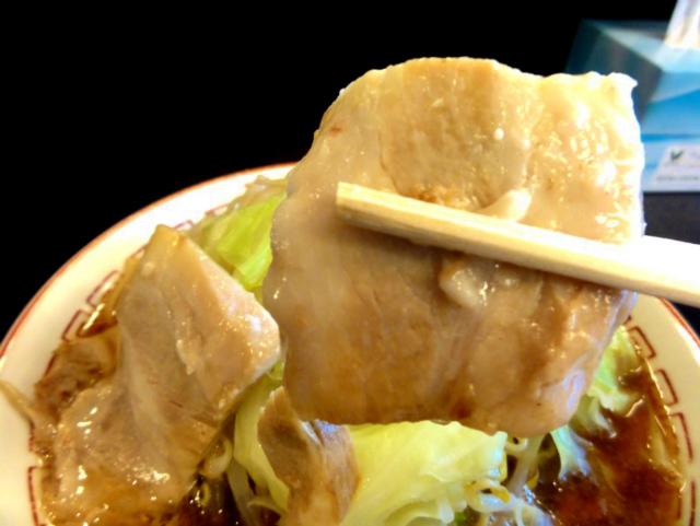 蜩野菜ラーメン(チャーシュー)