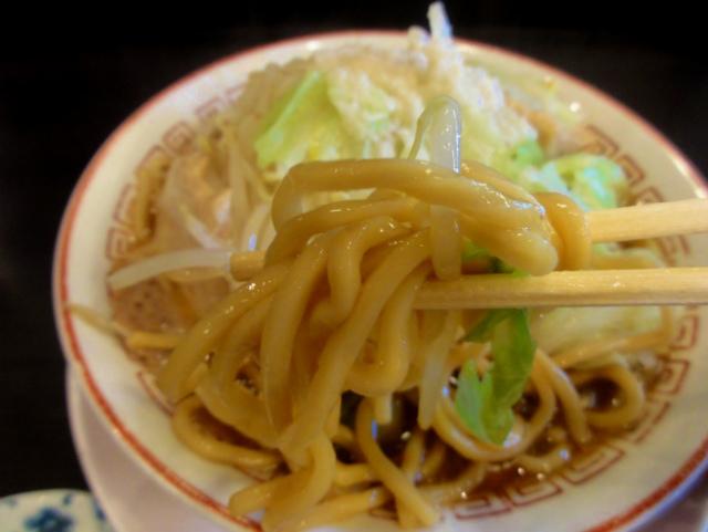蜩野菜ラーメン(太麺)