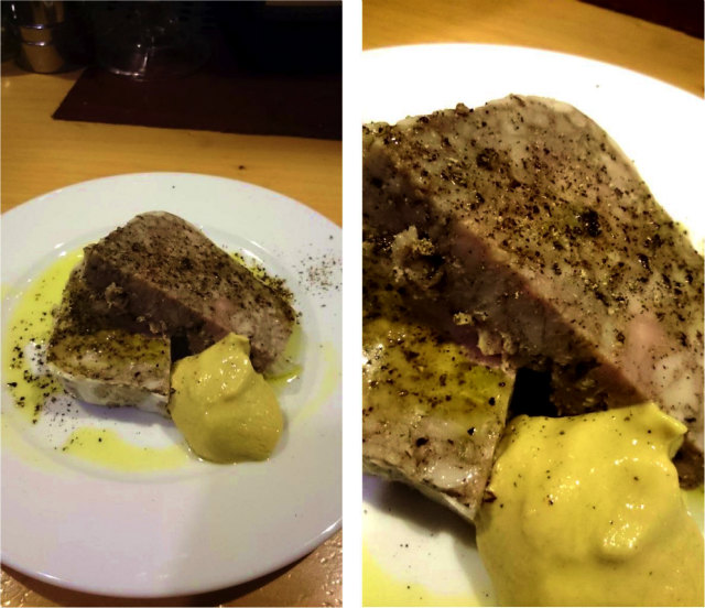 自家製豚肉のパテ