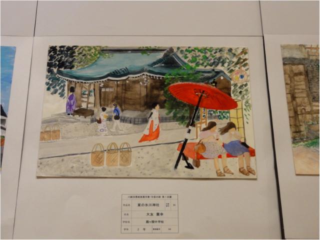 夏の氷川神社