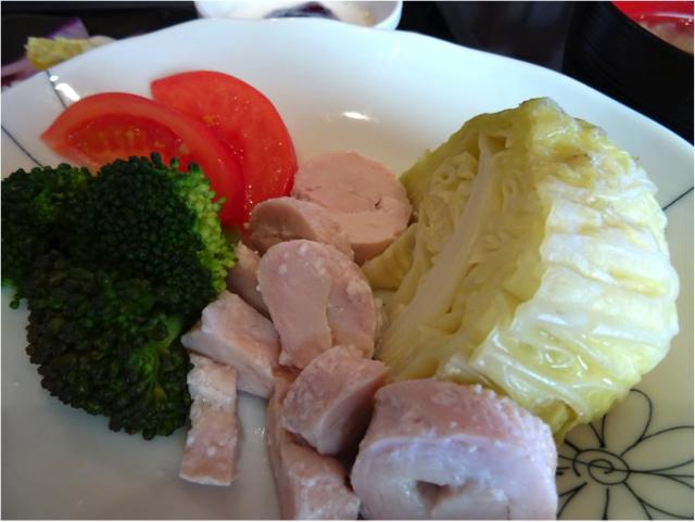 鶏とキャベツの蒸し煮