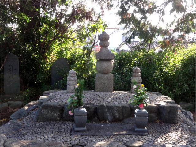 河越太郎重頼の墓