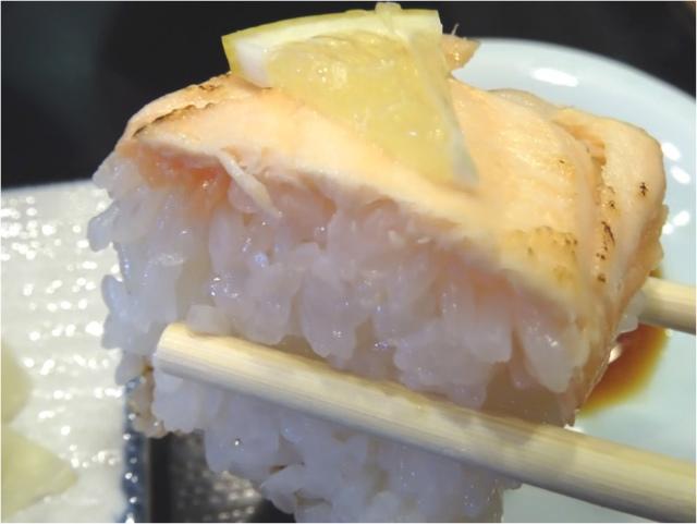 炙りサーモン手綱寿司