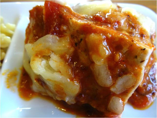 豚ロースのデミとまチーズ焼き