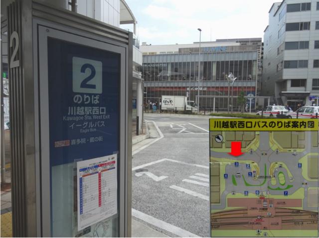 川越駅西口