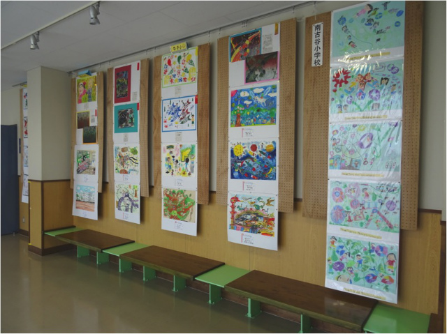 小中学校作品展