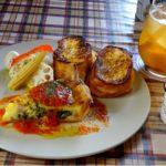 中はふわっ外はパリッ食べればニッコリのフレンチトースト〜Cafe & Kitchen LAPHUTER〜