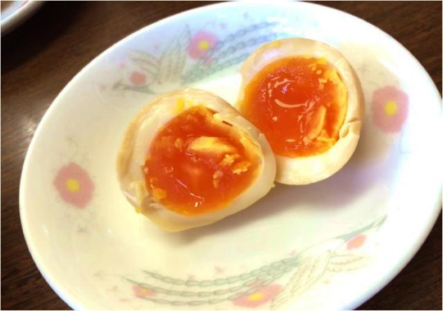 醤油ラーメン(煮卵)