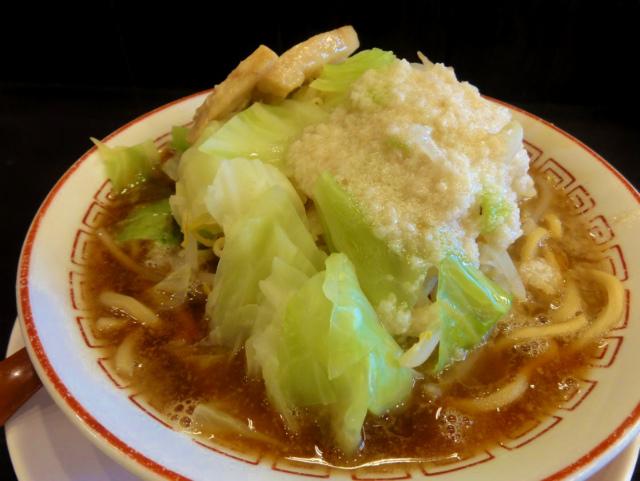 蜩野菜ラーメン(背脂)