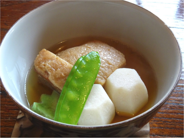 角煮と里芋の炊き合わせ