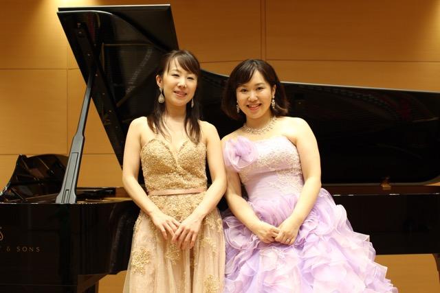 (声楽)間瀬田紗代さん(ピアノ)佐藤佑美さん