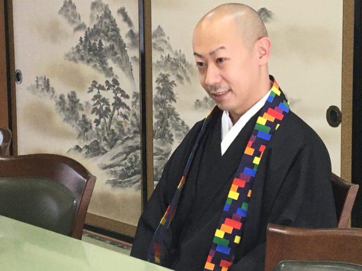 最明寺千田住職